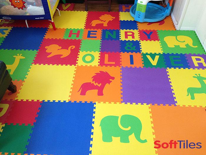 puzzles blocks mats sets kids games mat p foam trademark for alphabet building floor